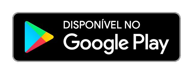 """Botão com a descrição """"Disponível no Google Play"""""""